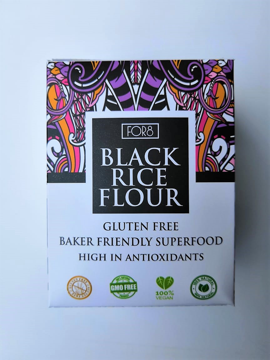 For8 Black Rice Flour Front Cover